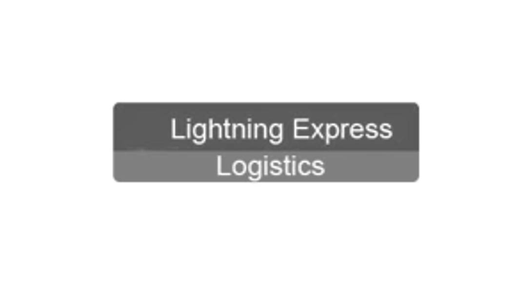 Lightning Express Logistics Logo